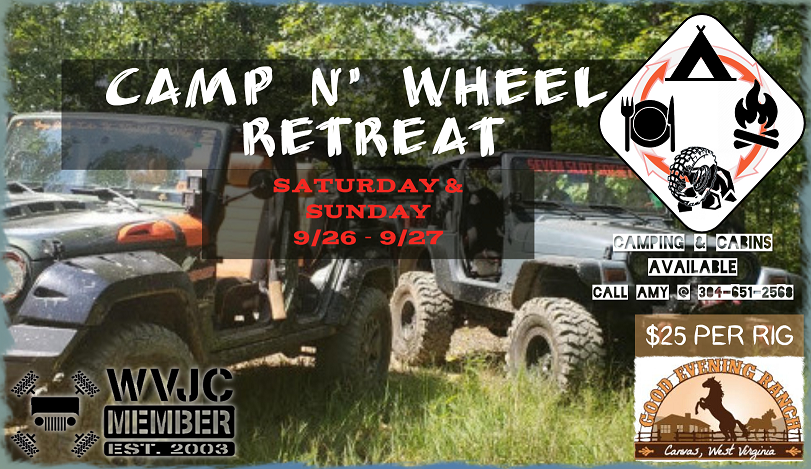 Camp & Wheel Retreat (members only) @ Good Evening Ranch Off-Road Park